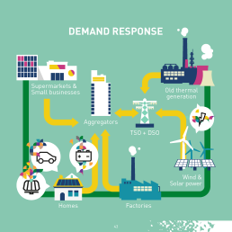 The potential for Demand Response will be 160 GW by 2030, according to the European Commission.