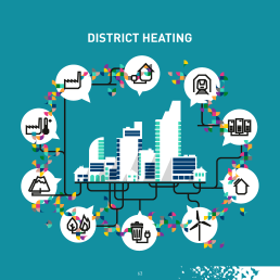District heating and cooling: connecting people, connecting communities, connecting buildings, connecting technologies.