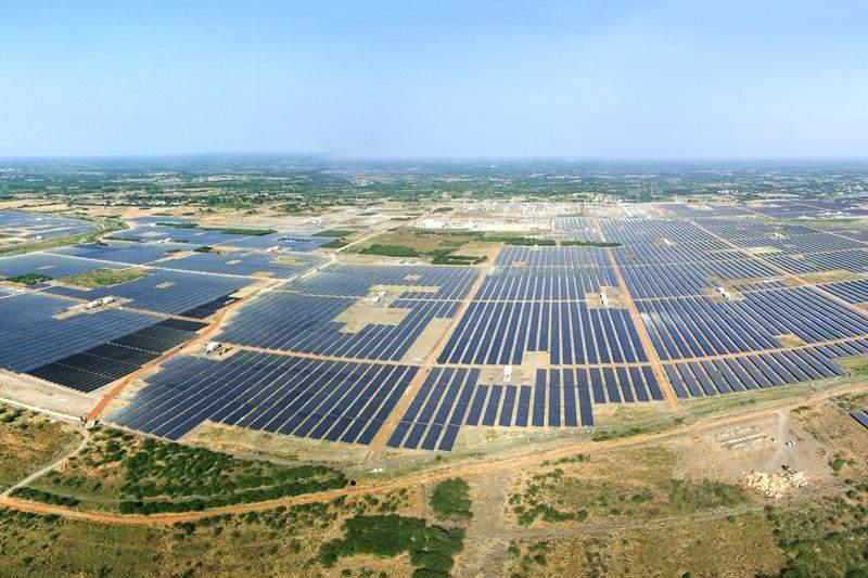 Kamuthi solar farm in India
