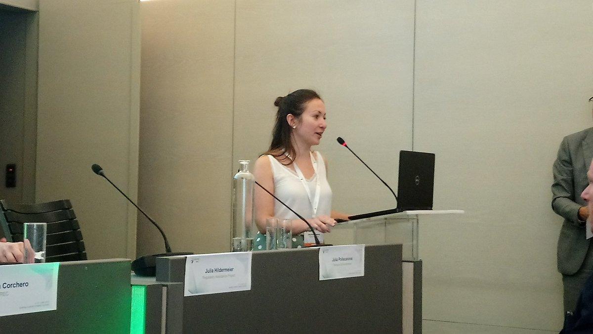 Julia Poliscanova from Transport & Environment