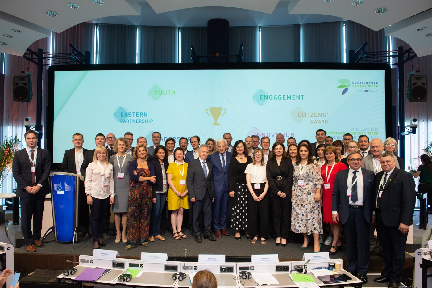 Award winners EUSEW19