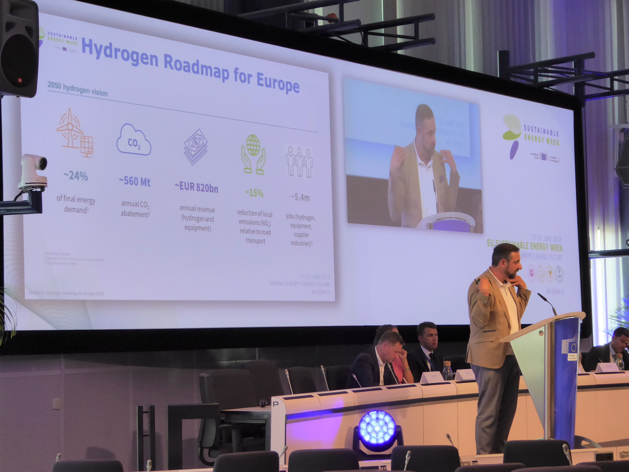Hydrogen Europe Sectretary General Jorgo Chatzimarkakis